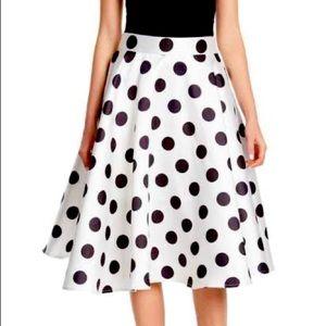 Gracia Polka Dot Skirt